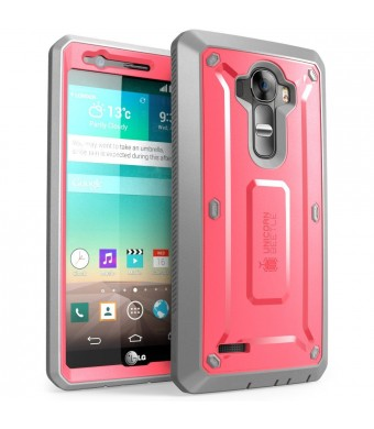 LG G4 Case, SUPCASE Full-body Rugged Holster Case with Built-in Screen Protector for LG G4 2015 Release, Unicorn Beetle PRO Series - Retail Package (
