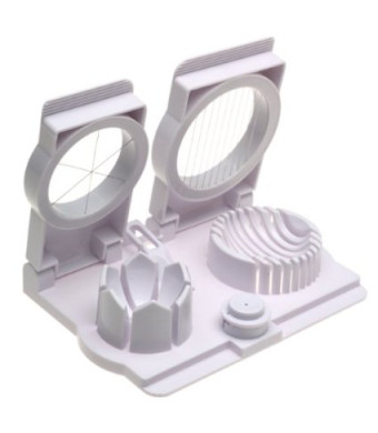 Egg Slicer Wedger Piercer (1, One Size)