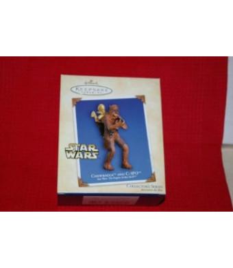 Chewbacca and C-3PO Star Wars: The Empire Strikes Back 2004 Hallmark Keepsake Ornament