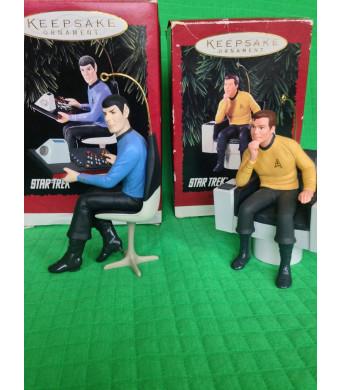 QXI5539 Captain James T. Kirk Star Trek 1995 Hallmark Keepsake Ornament
