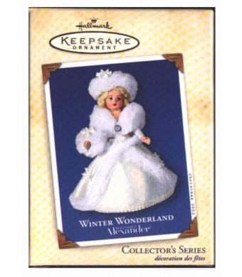 Madame Alexander Winter Wonderland Hallmark Ornament