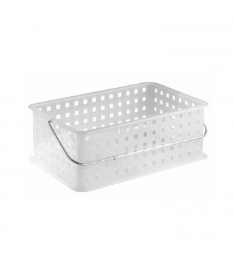 InterDesign Spa Basket, Medium, Frost