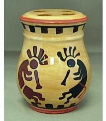 KOKOPELLI toothbrush HOLDER tooth brush BATH NEW