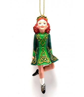 Kurt Adler Irish Dancing Girl Ornament Celtic