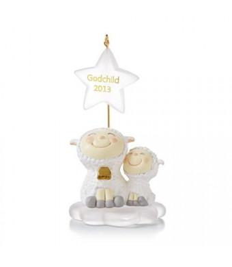 "Hallmark 2013 ""Godchild""  Ornament"