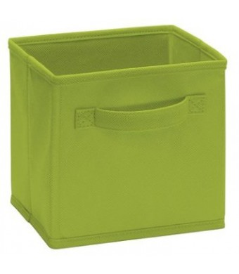 Closetmaid Cubeicals Mini Fabric Drawers- 154000 Spring Green , 2 Pack
