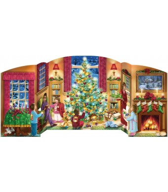 Holiday Home Free Standing Advent Calendar