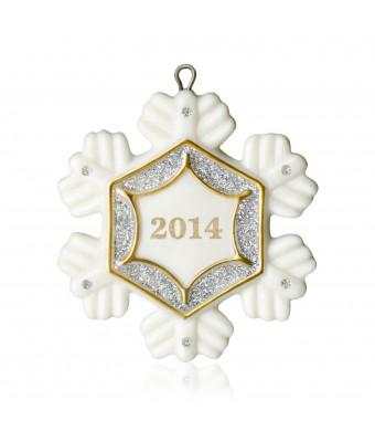 Hallmark 2014 Little Snowflake Miniature Ornament