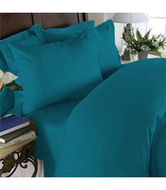 Elegant Comfort 1500 Thread Count Egyptian Quality 4-Piece Bed Sheet Sets with Deep Pockets, King, Turqouise