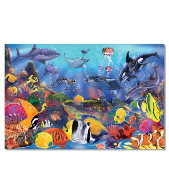 Melissa and Doug Underwater 48-Piece Floor Puzzle
