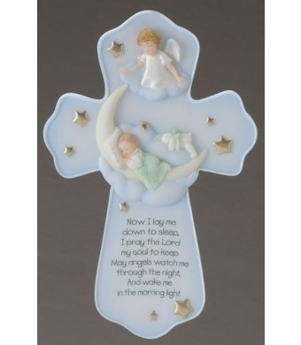 Roman Guardian Angel Sweet Dreams Baby Cross (62124)