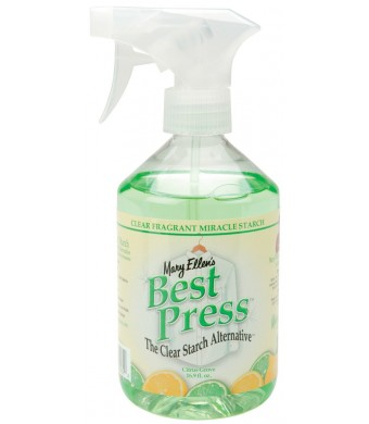 Mary Ellen's Best Press Clear Starch Alternative 16.9 Ounces-Citrus Grove