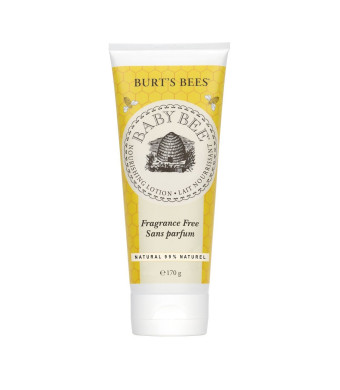 Burt's Bees Baby Bee Fragrance Free Lotion, 6 Ounces (Pack of 3)