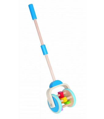 Hape E0345 Push and Pull - Lawn Mower Toy