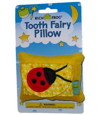 Rich Frog Ladybug Tooth Fairy Pillow