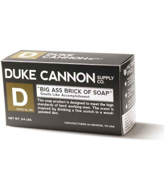 Duke Cannon 019 Adult's Brick of Soap Smells Like Accomplishment 10 oz.