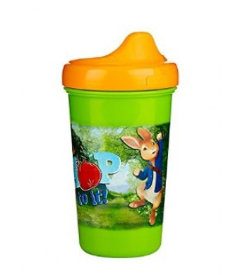 NUK Peter Rabbit Hard Spout Sippy Cup with Leak-Proof Design, 10-Ounce