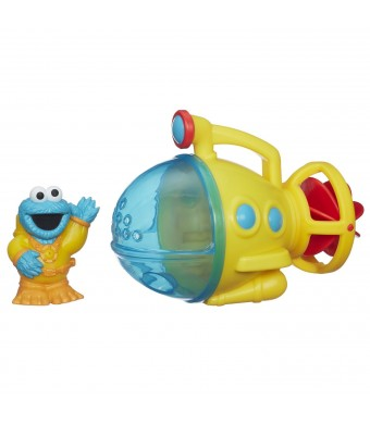 Sesame Street Cookie Monster Bath Submarine Toy