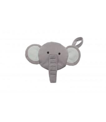 J.L. Childress Pacifier Pal Pacifier Pocket, Elephant