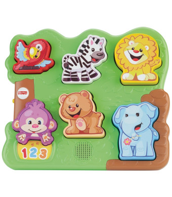 Fisher-Price Laugh and Learn Zoo Animal Puzzle