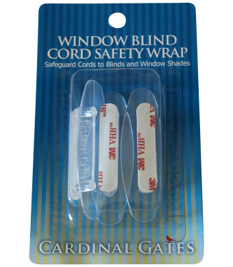 Cardinal Gates Cord Safety Wrap, Clear