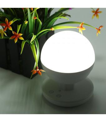 HousmileTM Multifunctional Intelligent LED Moving Light, Built-in 2200mAh High Capacity Lithium Battery, Stepless Fingerprint Touch Night Lights for