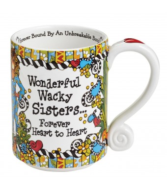 Suzy Toronto Wonderful Wacky Sisters Forever Heart To Heart Mug 4045308