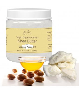 Shea Butter with Organic Argan Oil