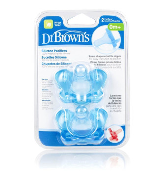 Dr. Brown's Silicone Pacifier, Boys