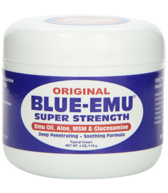 Nfi Consumer Products Blue-emu Emu Oil, Aloe, Super Strength, 4-Ounce