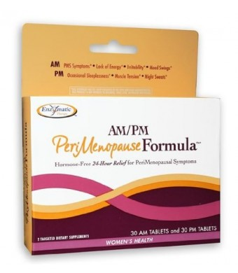 Enzymatic Therapy - Am/Pm Perimenopause Formula, 1 kit [Health and Beauty]