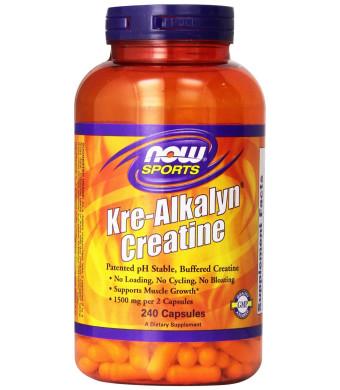Kre-Alkalyn Creatine 240 Capsules - 1500 mg per serving