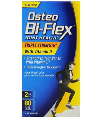 Osteo Bi-Flex Triple Strength with Vitamin D3 2000 iu, 80 Count