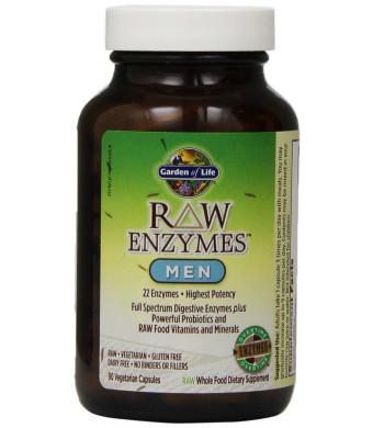Garden of Life RAW Enzymes(TM) Men, 90 Capsules