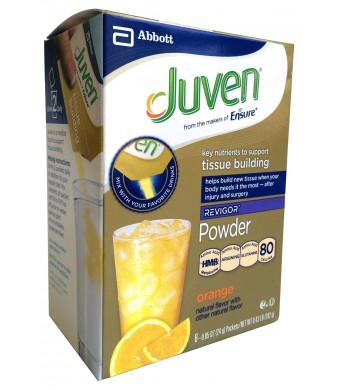 Juven Therapeutic Nutrition Powder, Orange, 8 Packets, .85 Ounce Each