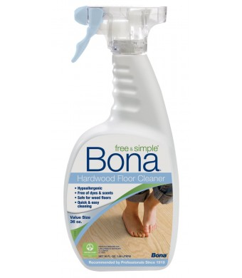 Bona Free and Simple Hardwood Floor Cleaner - 36oz Spray