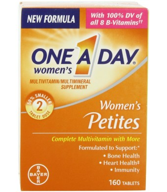 One-A-Day Women's Petites Complete Multivitamin, 160-Count