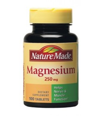 Nature Made Magnesium 250 Mg 100 Tablet (2 Pack)