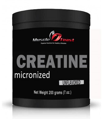 Micronized Creatine Powder 200 Grams (.44lbs)