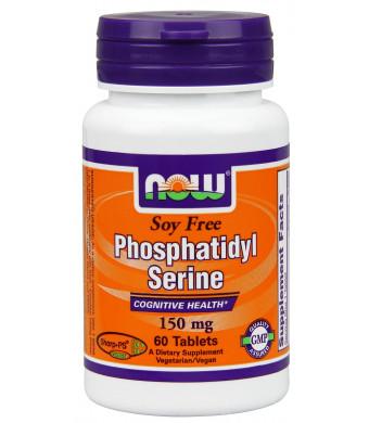 Now Foods Soy-free Phosphatidyl Serine Tablets, 150 mg, 60 Count
