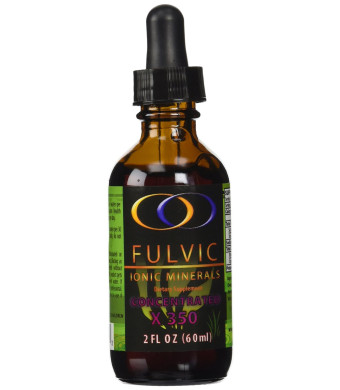 Fulvic Ionic Minerals X350 (2 oz) - More than Double the Concentration of any Concentrated Fulvic on the Market! Plus, other Fulvic products that cla
