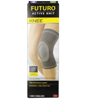 Futuro Infinity Active Knit Knee Stabilizer, Medium
