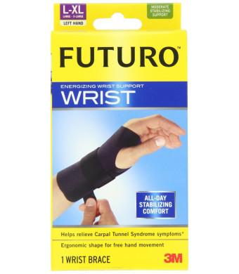 Futuro Energizing Wrist Support, Left Hand, Large/Extra-Large