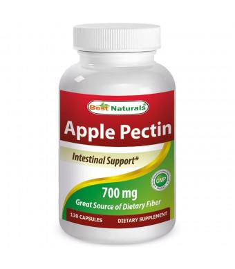 Best Naturals -- Apple Pectin -- 1400 mg per Serving -- 120 Capsules