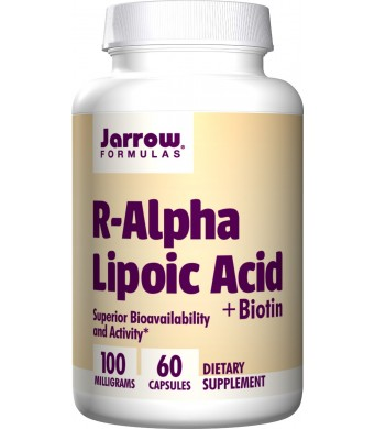 Jarrow Formulas R-Alpha Lipoic Acid, 60 Count