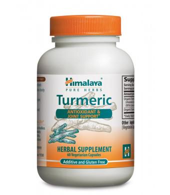 Himalaya Pure Herbs Turmeric, 60 Capsules,