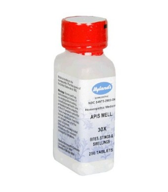 Hyland's Apis Mell., 30X, Tablets, 250 tablets