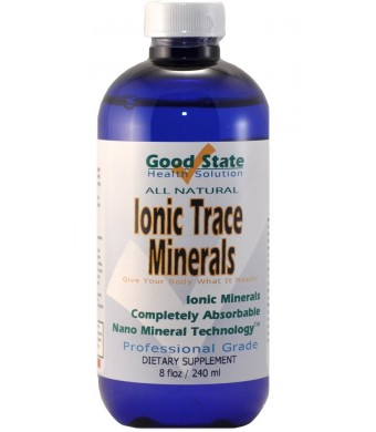 Good State-Liquid Ionic Trace Minerals (96 Days At 125mg.)