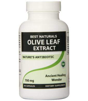 Best Naturals Olive Leaf Extract, 700 Mg, 90 Count