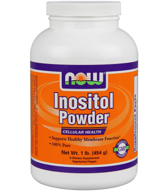 Now Foods Inositol Pure Powder, 1 LB